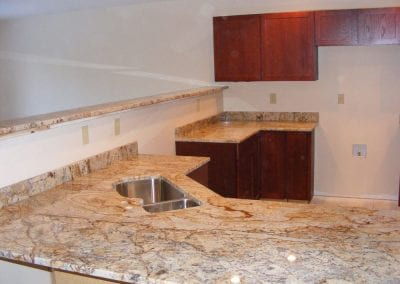 Stone kitchen counter tops